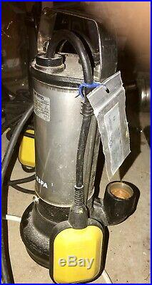 ESPA Drainex 100M 240v Dirty Water Submersible Pump Drainage Float switch