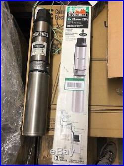 Everbilt 1/2 HP Submersible 2-Wire Motor 10 GPM Deep Well Potable Water Pump 106