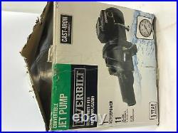 Everbilt Convertible Jet Pump Cast-Iron Fresh Water Pump 1001 480 255