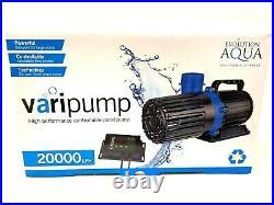 Evolution Aqua Varipump High Output Pump for Large Pond Filters Koi Fish 20,000
