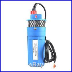 Farm & Ranch Solar Powered Submersible DC Water Well Pump 12V 230FT+ Lift