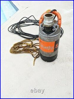 FlyGt Ready 8 Submersible Utility Construction Manhole 115v Pump
