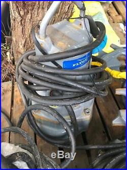 Flygt 3085.160 2kw 230V submersible waste water pump X2