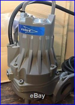 Flygt 3085.190 2.4kw 230V-400V Submersible Waste Water Pump