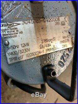 Flygt DP 3045.181 230 MT 1.2kw 400v submersible waste water pump £500+vat