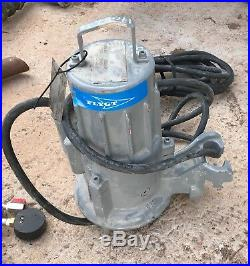 Flygt DP 3045.181 230 MT 1.2kw 400v submersible waste water pump #958