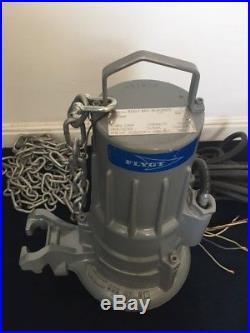 Flygt DP 3057.181-1640860 2.4kw 350Hz submersible waste water pump
