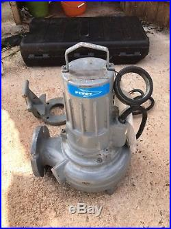Flygt DP 3068.180 471 1.5kw 3 submersible waste water pump #955/956