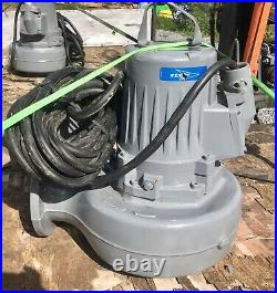 Flygt LT 3127.161 425 5.9kw submersible waste water pump #2500