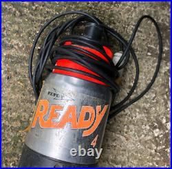 Flygt Ready 4 110v Submersible Heavy Duty Water Pump