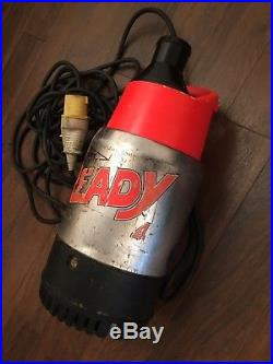 Flygt Ready 4 Submersible Water Building Pump 110V Swimming Pool Ditch Pond Fish