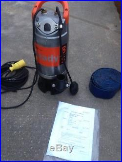 Flygt Ready 8 S 110v submersible waste water pump Automatic Float 2008.281.115