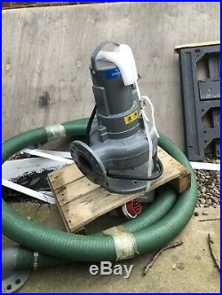 Flygt Submersible Waste Sewage Water Pump DX 3069 LT 1.5KW 400V Brand New