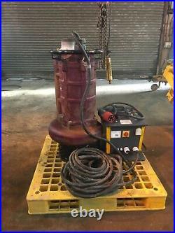 Flygt submersible water pump