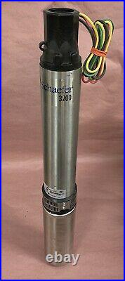 Franklin 4 Water Submersible Well Pump 10SRD07P4-3W230 2145079004G 3/4-HP 230V