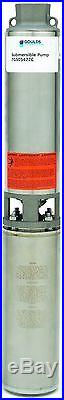 GOULDS 10 Gallon 1/2 hp 10GS05 Submersible Water Well Pump 10GS05412CL