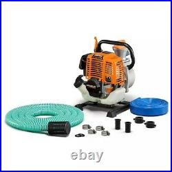 Generac 2HP 1 In. Gas Powered Clean Water Pump with Hose Kit