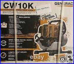 Generac 6917 CW10K 1'' Clean Water Pump with Hose Kit, 30 GPM 49 State/CSA