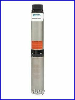 Goulds 18HS10412CL 4 Submersible Water Well Pump & Motor 18GPM 1HP 230V 3Wire
