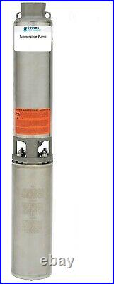 Goulds 25GS10412CL 1 HP 230V Submersible Water Well Pump 25GPM