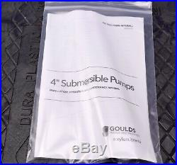 Goulds 5 HP 75 GPM 11 Stage 4 Submersible Pump Residential Water 75GS50