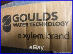 Goulds/Xylem 55GS50 Submersible Water Pump. GS Series. Well Pump. BRAND NEW