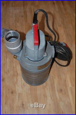 Grindex Minette type G1801, 3 Phase Submersible Water Pump 16l/s, 3inch outlet