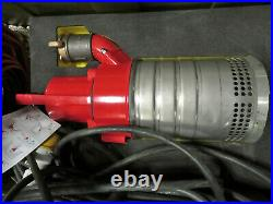 Grindex Minex 110v HEAVY DUTY INDUSTRIAL Submersible Dirty Water PUMP 480L/min