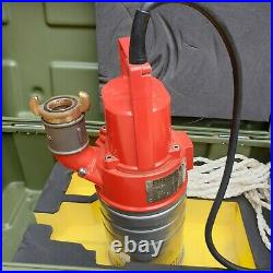 Grindex Minex Submersible Dirty Clean Water Pump Made In Sweden-Brand New
