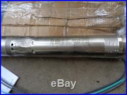 Grundfos 30SQ10-130 96160161 3 Submersible Water Well Pump and Motor 30GPM 1HP