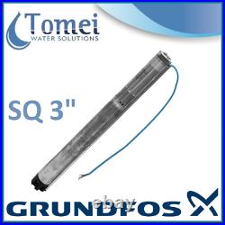 Grundfos Submersible Water Pump 3 Well Borehole SQ 2-55 1,00kW 230V 50/60Hz