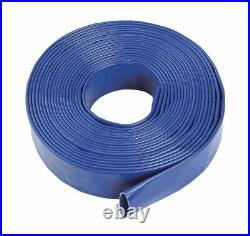 HEAVY DUTY SUBMERSIBLE PUMP FOR DIRTY WATER, 50 Meters Hose Rubber Lay Flat Pvc