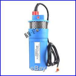 HSH-Flo DC12V 360LPH Solar Powered Mini Submersible Water Deep Well Pump