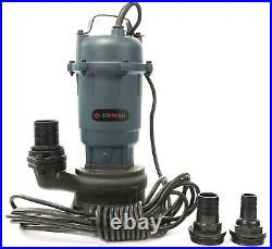 Heavy Duty Submersible Pump For Dirty Water Fire Fighting Hose To Pump 20m