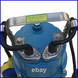 Heavy Duty Submersible Sewage Water Pump With Shredder Cutter Power1100W
