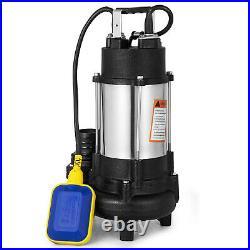 Heavy Duty750W 1HP Submersible Sewage Dirty Water Pump Float Switch 230V