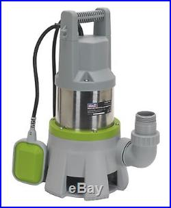 High Flow Submersible Stainless Dirty Water Pump Automatic 417ltr/min 230V