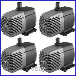 Hydrofarm AAPW550 Active Aqua 550GPH Submersible Hydroponics Water Pump (4 Pack)