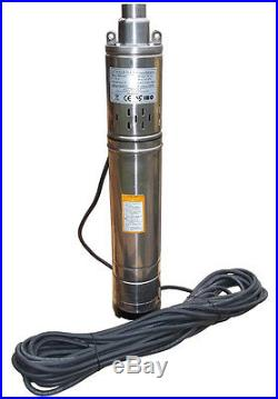 IBO 3.5SCR 1.8-50 Borehole Deep Well Submersible Water Pump LONG LIVE + CABLE