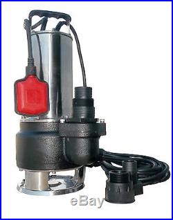IBO FQ1500 Heavy Duty Waste Dirty Water Sewage SUBMERSIBLE PUMP 24000l/h SMALL