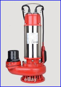 IBO SWQ 1500 PRO Heavy Duty Dirty Water Dewatering Flooding SUBMERSIBLE PUMP
