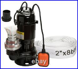 IBO VIPER 550W Submersible Sewage Dirty Water Septic Pump Float Switch + 20m