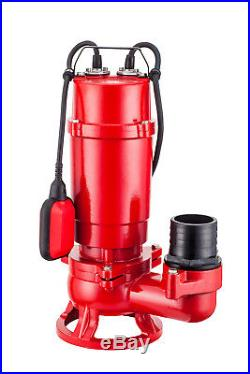IBO WQ 1500 PRO Submersible Heavy Duty Pump Dirty Water Dewatering Construction
