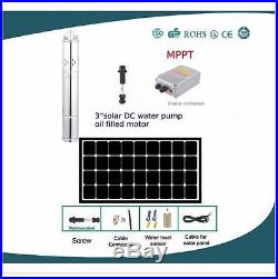 Intelligent Electromagnetic Agricultural irrigation submersible water pump