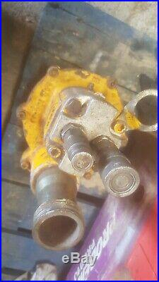 JCB Hydraulic 2 Submersible Water Pump beaver