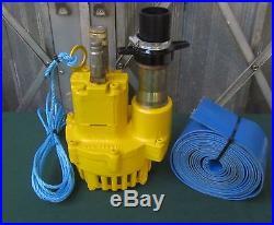 JCB Hydraulic Water Pump Submersible Pump For Beaver Breaker Site Pump