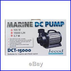 JEBAO JECOD Variable Flow DCT-15000 DC Aquarium Return Pump &Controller 15000L/H
