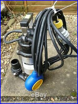 JS-400A Heavy Duty Industrial Automatic Submersible 2 Outlet Water Pump 110v
