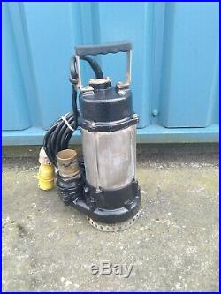 JS400 HEAVY DUTY INDUSTRIAL MANUAL SUBMERSIBLE 2 OUTLET WATER PUMP 110v