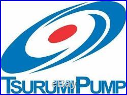 Japanese Tsurumi HSZ2.75S Vortex Building Site Submersible Drainage Water Pump